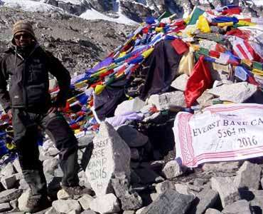 Mount Everest Base Camp Elevation and Altitude Sickness