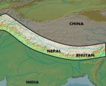 Where are the Himalayas Located