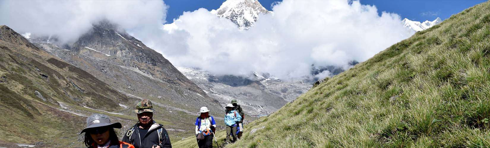 Annapurna Base Camp weather March April May