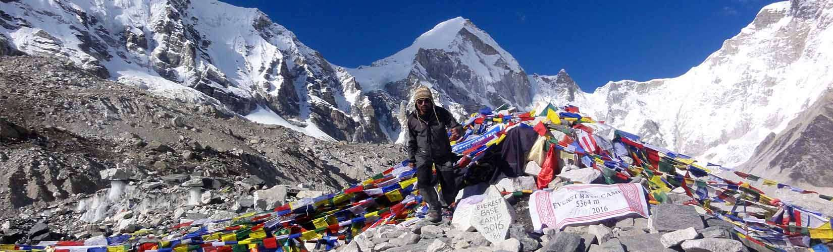 How High is Everest Base Camp