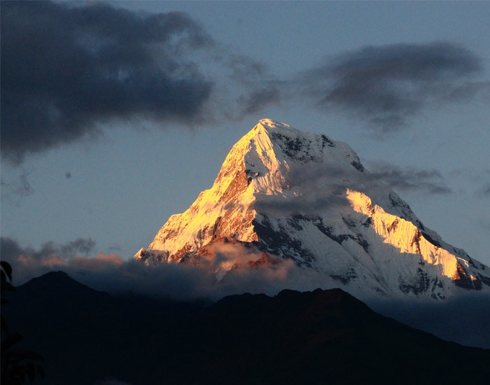Glorious View of Mt. Annapurna
