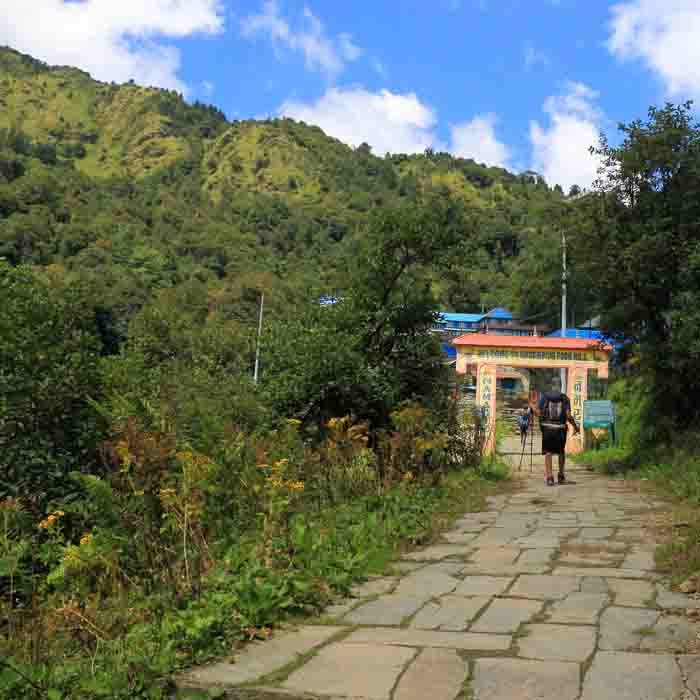 Poon Hill Entrance