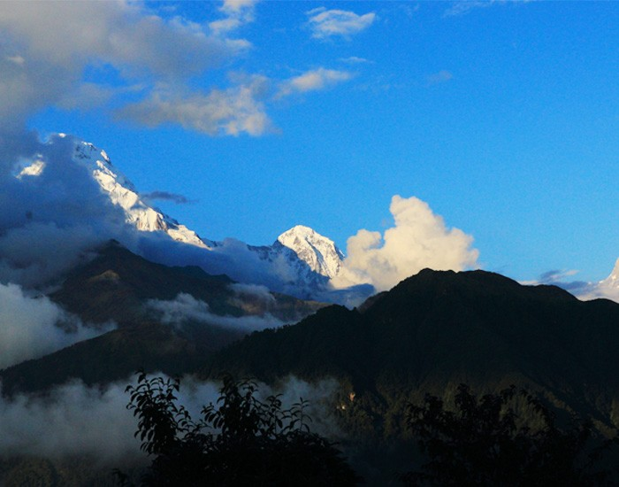 Mountain View from Poon Hill