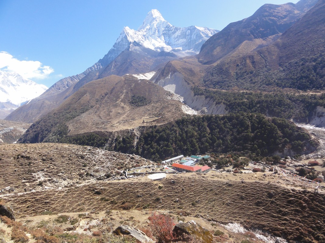 Mount Amadablam in Everest region