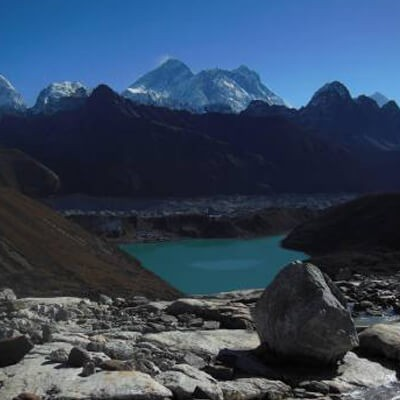View Of Gokyo Lake and Mt. Everest
